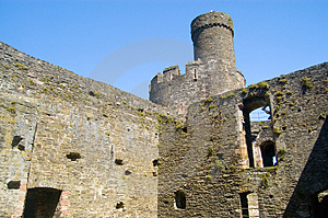 Castle Tower And Walls Stock Photos - Image: 1209103