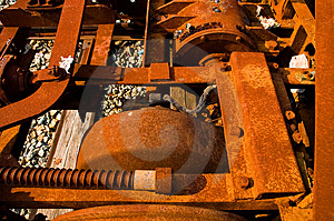 Rusted Machinery Royalty Free Stock Photos - Image: 1212688