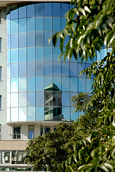 Reflections Modern Buildings 2 Royalty Free Stock Images - Image: 1214179