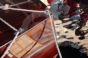 Boat Reflections #2 Royalty Free Stock Photo - Image: 1216105