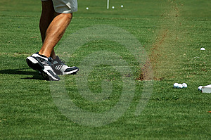 Playing Golf Stock Photos - Image: 1223973