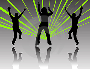 Dancing At A Party Royalty Free Stock Photo - Image: 1225315
