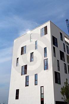 Modern Building Stock Image - Image: 1228221