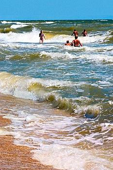 Sea Waves Royalty Free Stock Photos - Image: 1232368