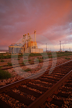Industrial Area Stock Images - Image: 1235454