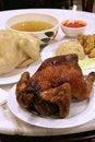 Chicken rice Stock Photos