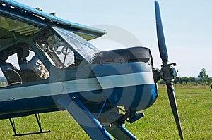 体育运动飞机 免版税库存照片 - 图片: 1240228
