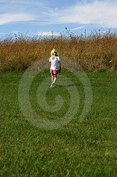 Girl Walking Stock Photography - Image: 1247302