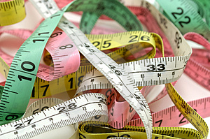 Tape Measures Royalty Free Stock Photo - Image: 1251095