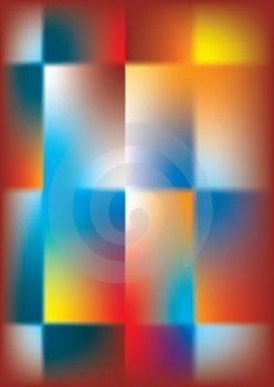 Abstraktné Pozadie multicolor, kríž a námestia.
