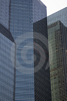 Tall Office Buildings Royalty Free Stock Photography - Image: 1257527