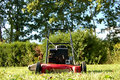 Lawn mower Stock Image