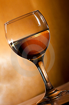 Wine glasses Stock Photo