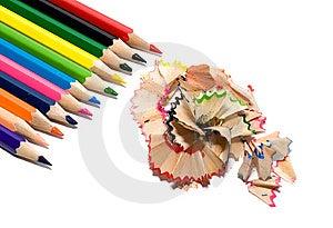 Sharpened Rainbow Royalty Free Stock Photography - Image: 12574447