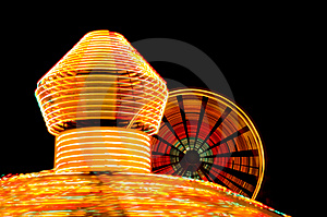 Carnival Rides - Fair Royalty Free Stock Photography - Image: 1261067