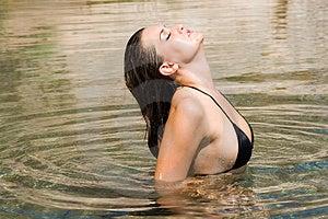 Sexy Girl In Bikini Royalty Free Stock Photo - Image: 1262195