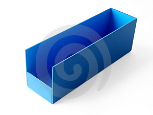 Blue Box Royalty Free Stock Images - Image: 1264419