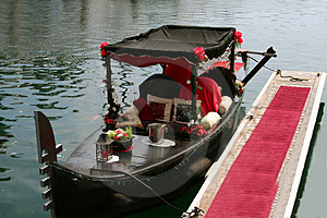 Romantic Gondola Royalty Free Stock Photos - Image: 1264528