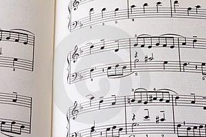 Sheet of music P01