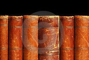 Antique books theme Royalty Free Stock Photo