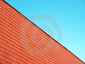 Red Wall Royalty Free Stock Photography - Image: 1278167