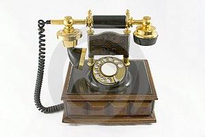 Old Style Telephone #2 Royalty Free Stock Image - Image: 1278426