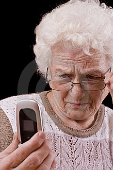 Old woman Free Stock Photography