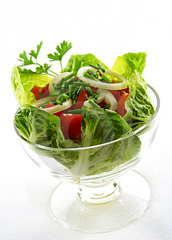 Tomato salad Stock Images