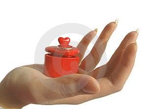 Cadeau Pour La Saint-Valentin Image stock - Image: 12774791