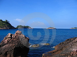 Sky With Sea With Sky Royalty Free Stock Image - Image: 1281776