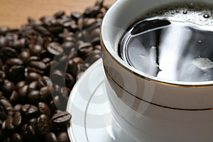 Coffee A Break Royalty Free Stock Photography - Image: 1282787