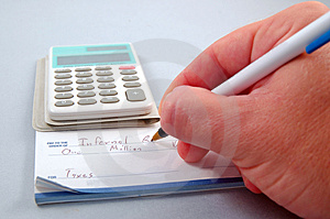 Tax Time Stock Images - Image: 1284584