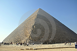 Cheops pyramid Stock Photography