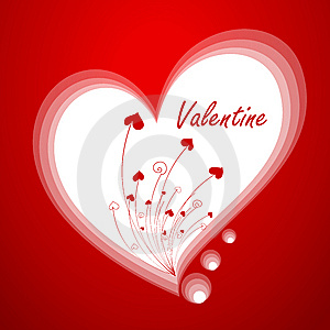Valentine`s greeting card Royalty Free Stock Photos