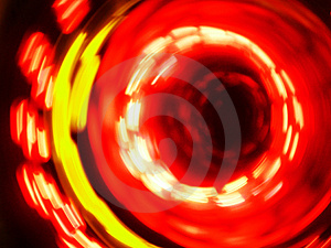 Spinning Lights Stock Photos - Image: 1293293