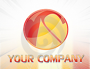 Red And Yellow Logo Stock Photo - Image: 12900140