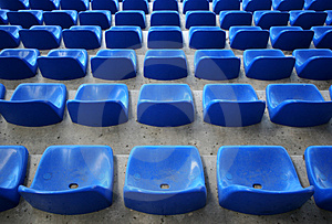 Stadium Seats Free Stock Photo