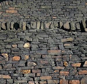 Gritstone Wall Stock Images