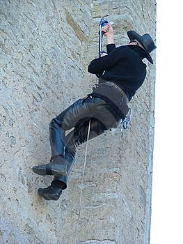 Man Climbing Free Stock Images