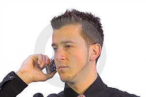 Business Call - Serious Look Free Stock Photos