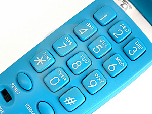 Blue Phone Free Stock Images