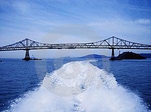 San Rafael Richmond Bridge 3369_b Royalty Free Stock Photos