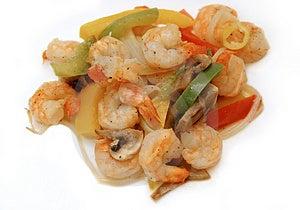 Shrimp Meal 3 Free Stock Photos