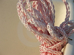 Coiled Nylon Rope Free Stock Images