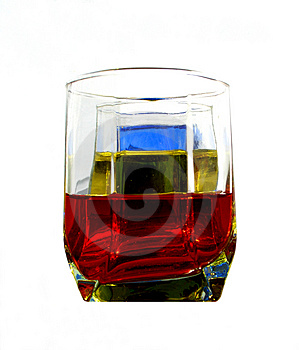 Color Glasses....(5) Stock Images