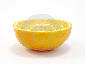 Half Orange Free Stock Photos