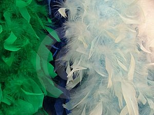 Artificial Feathers Stock Image