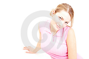 The Look Of Seduction Stock Photography