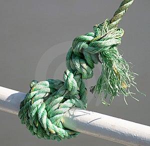 Gren Rope Free Stock Image