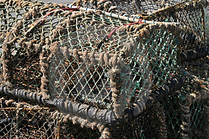 Lobster Pots Free Stock Photos